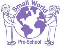 small world pre-school logo